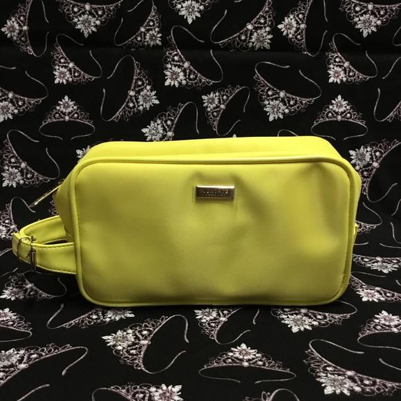 1d9c3fcc031 Versace Parfums Yellow Cosmetics Travel Bag. M_5b942845bb761542d0d5948b